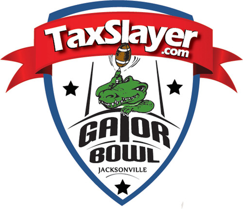Taxslayer.com Gator Bowl logo