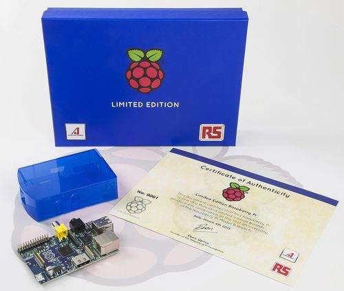 RS Components releases free limited edition Raspberry Pi to celebrate first anniversary of the credit-card-sized computer (PRNewsFoto/RS Components)