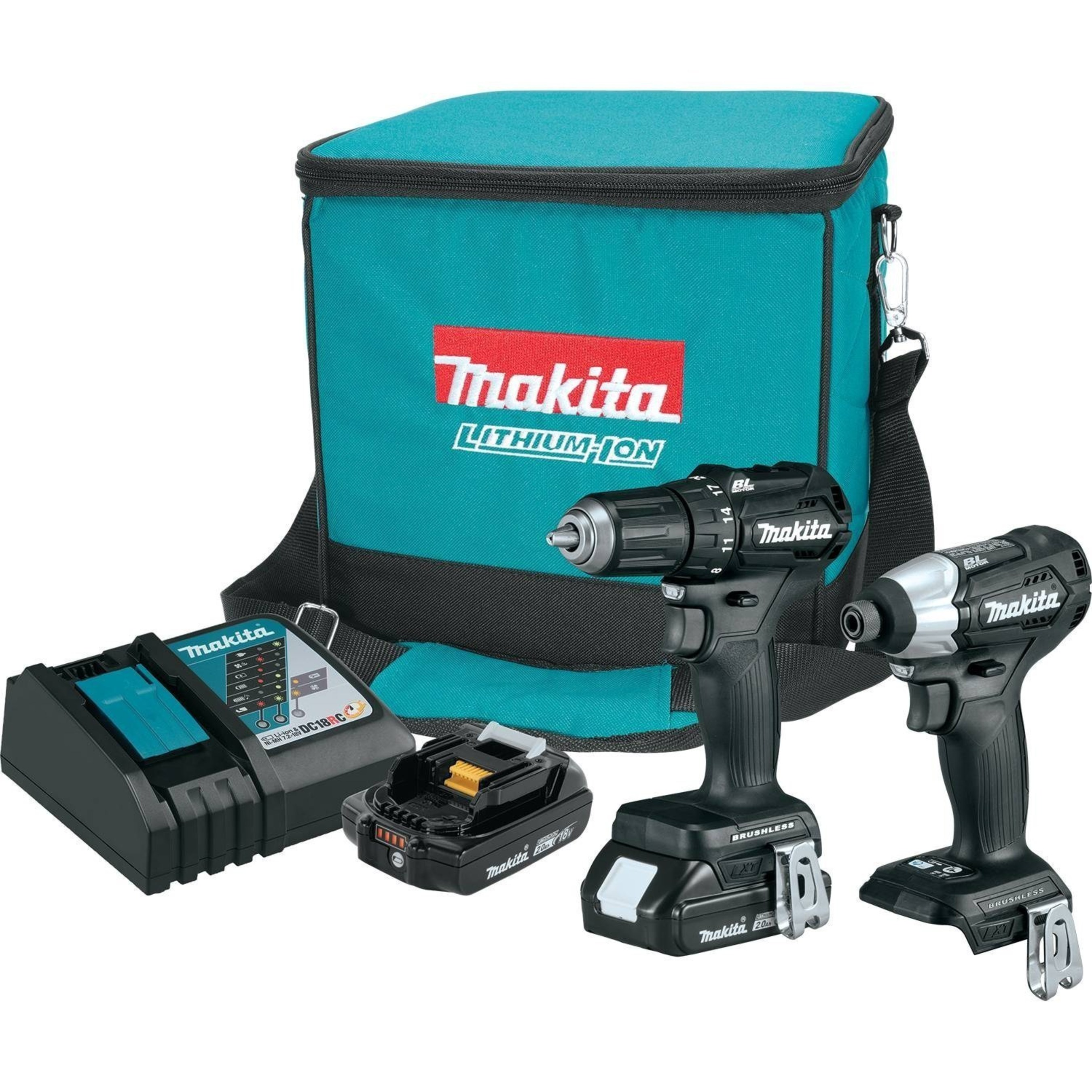 Makita 18V LXT Sub-Compact Brushless tools, a new class in cordless, are the most compact and lightest weight in the 18-volt category.