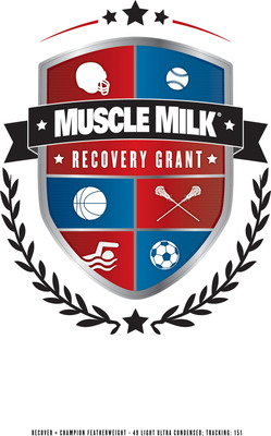 The Muscle Milk Recovery Grant Program is providing up to $250,000 in grants to high school athletic programs around the country.  Submit your high school's story at www.facebook.com/musclemilk.  (PRNewsFoto/Muscle Milk)