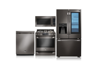 "LG Electronics USA today announced the addition of the ""Black Stainless Steel"" series to LG STUDIO appliances, the company's high-end line of kitchen appliances inspired by renowned interior designer and LG STUDIO Artistic Advisor Nate Berkus."