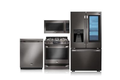 LG Electronics Debuts Black Stainless Steel Series In Nate Berkus-Inspired LG STUDIO Appliances