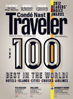 Conde Nast Traveler Announces The Winners of Its 25th Annual Readers' Choice Awards