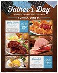 Make Dad King At Ryan's(R), HomeTown(R) Buffet And Old Country Buffet(R) This Father's Day, June 16.  (PRNewsFoto/Buffets, Inc.)