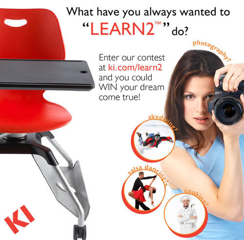 KI Launches 'Learn2™' Video Contest, Invites Interior Designers to Share What They've Always Wanted