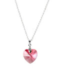 Dazzle Daily Unveils Limited Soft Pink Swarovski Heart Necklace Deal in Time for Valentine's Day