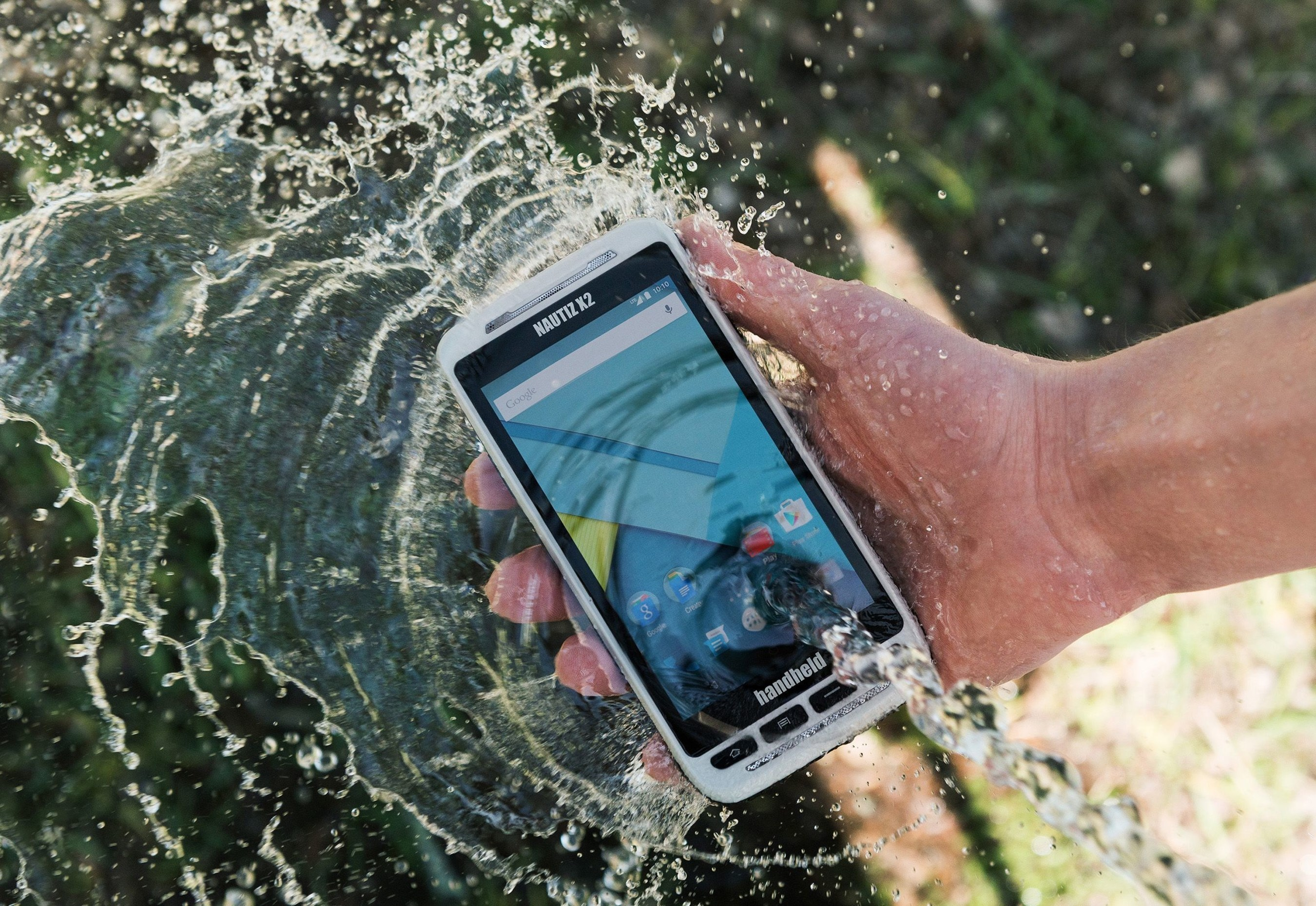 Handheld Launches the NAUTIZ X2 all-in-one Rugged Android Device (PRNewsFoto/Handheld Group)