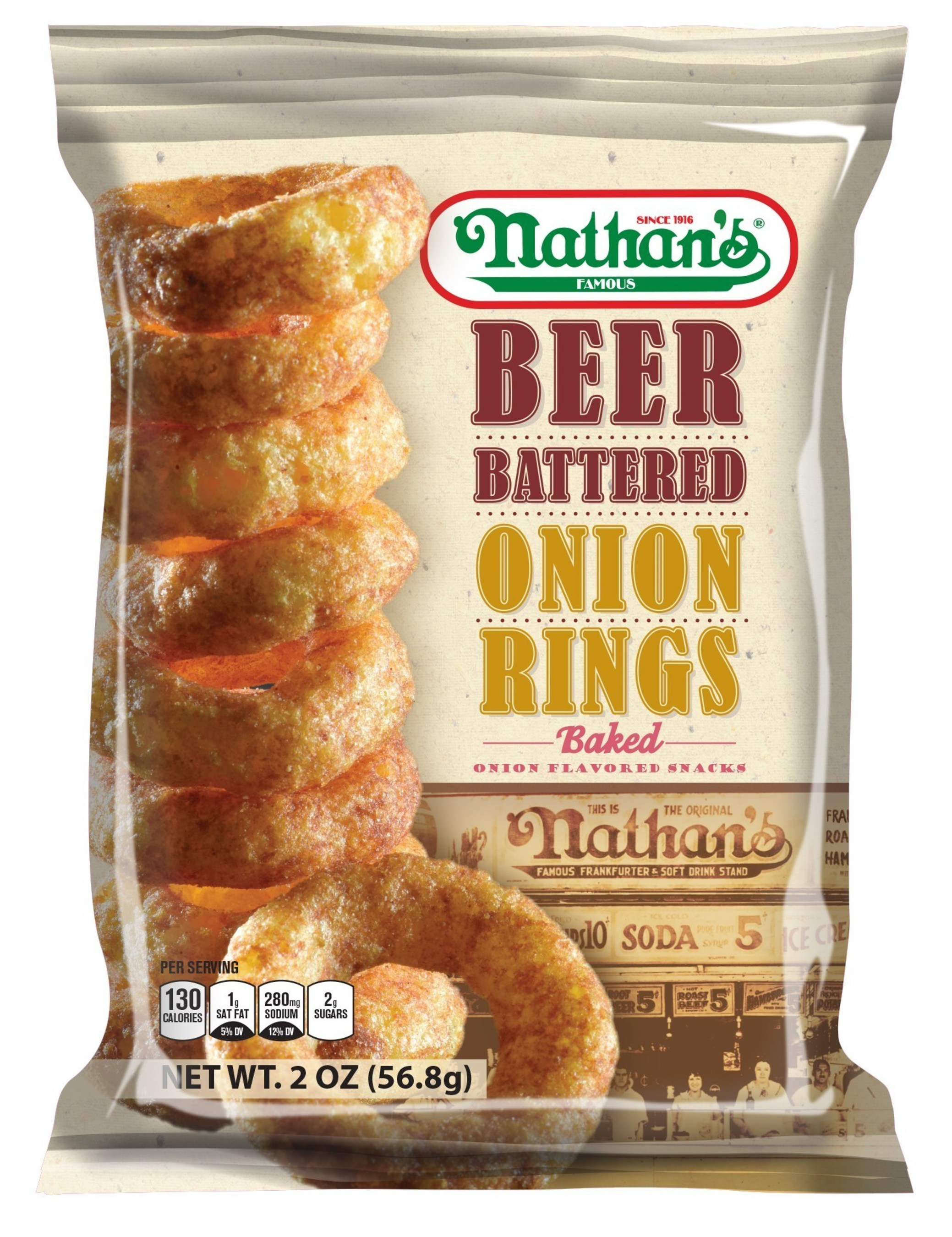 Nathan S Beer Battered Onion Rings Chips