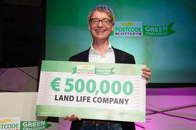 Jurriaan Ruys, Winner of 2015 Postcode Lottery Green Challenge