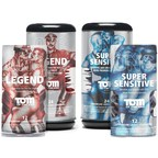 Tom of Finland Condoms from ONE(R): Available in Super Sensitive and Legend styles, 12-pack, 24-pack, and bowls of 100.