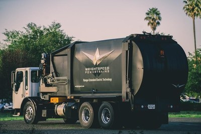Coming to a neighborhood near you: the world's first Wrightspeed-enabled refuse truck