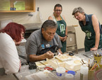 Summer Hopi Jewelry Faculty, Roy Talahaftewa, leads students in his workshop