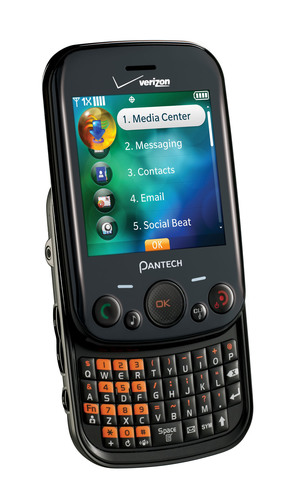 Verizon Wireless and Pantech Introduce the Pantech Jest™