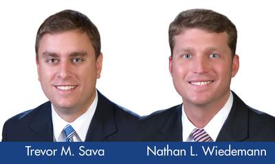 Trevor M. Sava and Nathan L. Wiedemann have joined McDonald Hopkins Law Firm as Associates.  (PRNewsFoto/McDonald Hopkins)