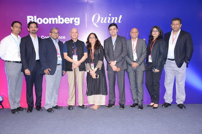 Bloomberg forms partnership with Quintillion Media in India