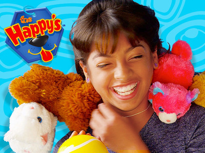 Amazingly adorable and remarkably real, The Happy's are the new line of interactive motorized plush pets from the from the makers of ZhuZhu Pets(R). The Happy's do tricks, make silly sounds and can be trained, bringing boys and girls the joy of a real pet with a magical twist. Playsets and accessories such as Treats, Fashion Carrier and Scarf and Deluxe Bed and Blanket are also available for purchase. For more information, visit www.the-happys.com.  (PRNewsFoto/Cepia LLC)