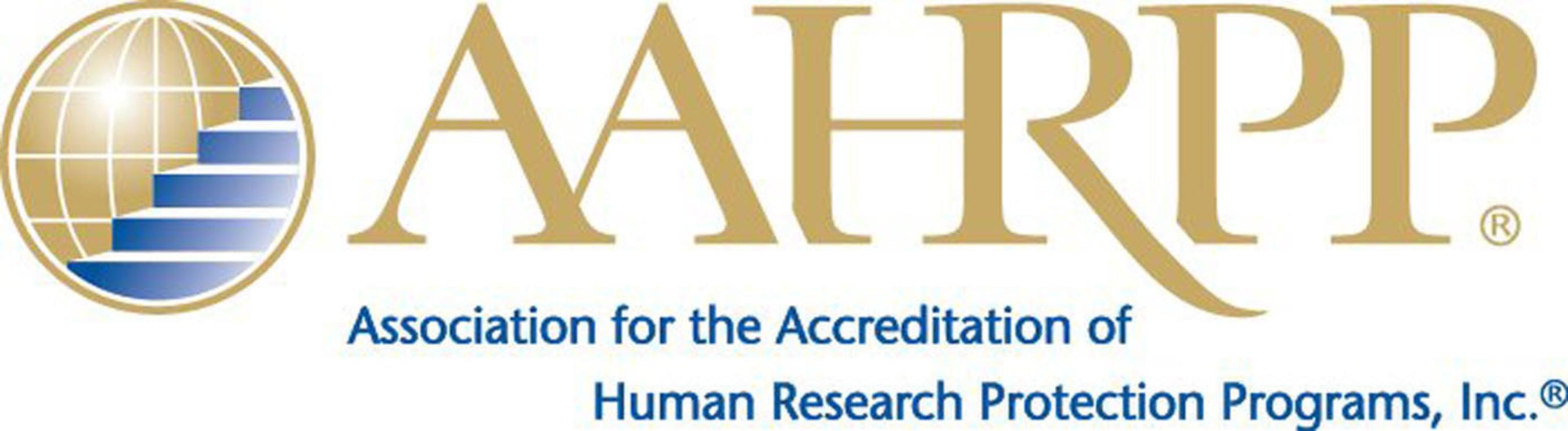 AAHRPP logo.