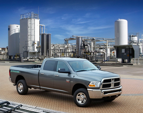 Ram Truck Dealers to Supply 19 States with Ram 2500 Heavy Duty CNG-Powered Pickup Trucks