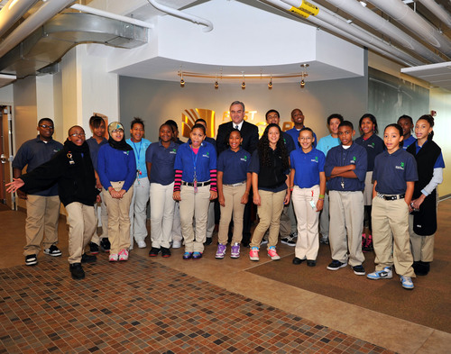 First Niagara's Day of Mentoring Teaches Upstate New York Students How to Thrive in the Workplace