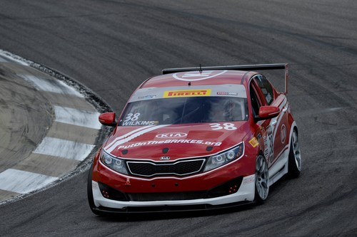 Kia Racing carries championship lead to Mid-Ohio for rounds 11 and 12 of Pirelli World Challenge. (PRNewsFoto/Kia Motors America)