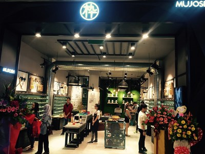 The first overseas MUJOSH Concept Store at L1.39, Pavilion Kuala Lumpur in Bukit Bintang District of the city, the shopping paradise of Malaysia