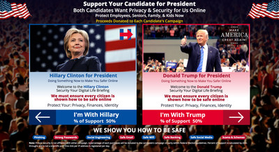 Hillary & Donald Securing Your Digital Life Briefing