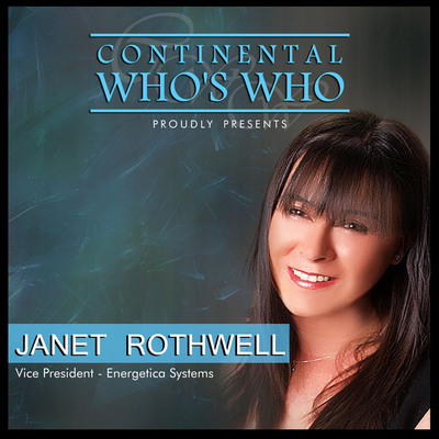 The Continental Who's Who proudly presents Janet Rothwell as a Pinnacle Professional Member.  (PRNewsFoto/Continental Who's Who)