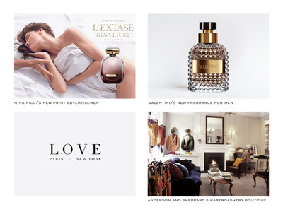 L.O.V.E builds a unified language and unique vision for a roster of international luxury brands.