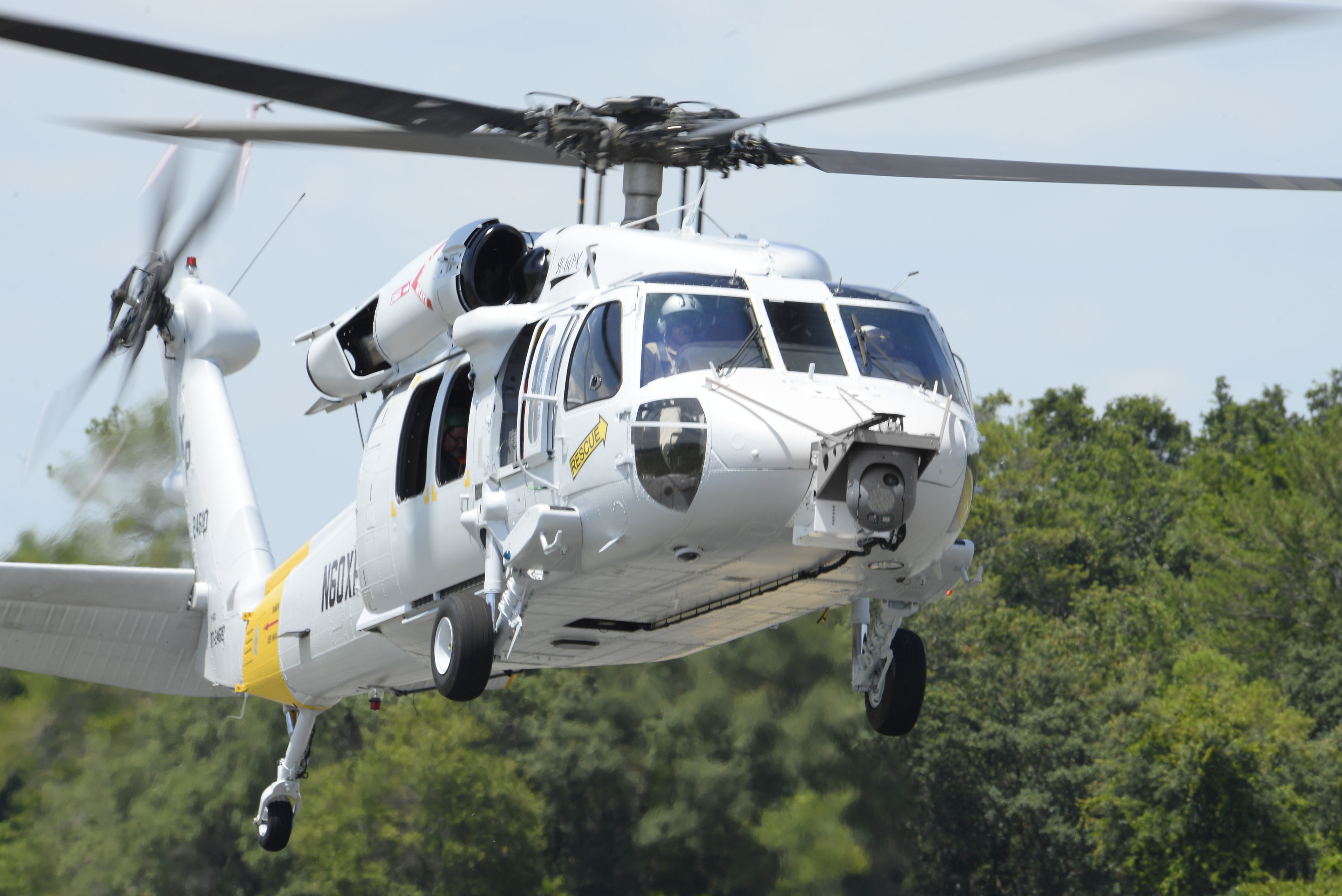 Lockheed Martin's INFIRNO Sensor Makes First Flight on the BLACK HAWK Helicopter.