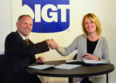 IGT Extends Partnership with Olympic Entertainment Group.  (PRNewsFoto/IGT)