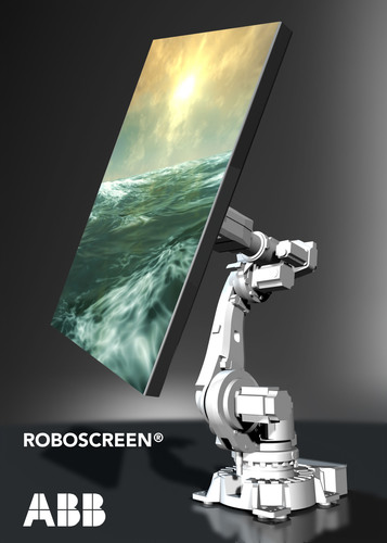 Market segments for the new RoboScreen packages include live performance and event entertainment, interactive ...