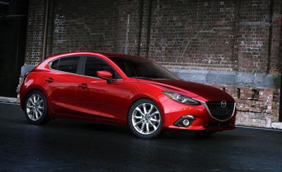 All-New 2014 Mazda3 Makes Global Debut.  (PRNewsFoto/Mazda North American Operations)