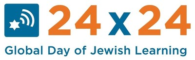 Global Day of Jewish Learning's 24x24, logo