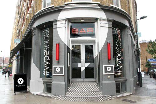 #vypesocial UK's First e-Cigarette Bar (PRNewsFoto/Vype)