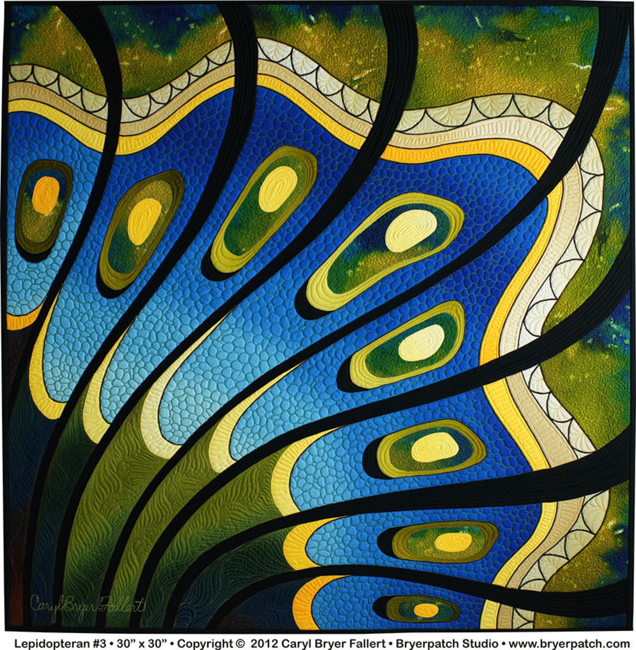 Lepidopteran #3 - Caryl Bryer Fallert-Gentry.  (PRNewsFoto/National Quilt Museum)