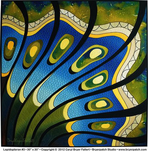 Lepidopteran #3 - Caryl Bryer Fallert-Gentry. (PRNewsFoto/National Quilt Museum) (PRNewsFoto/NATIONAL QUILT MUSEUM)