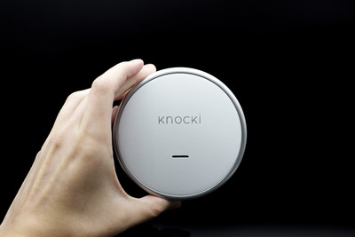 Knocki will begin shipping at the end of the year