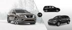 The 2014 Nissan Pathfinder and 2014 Chevy Traverse show off their strengths at Ingram Park Nissan.  (PRNewsFoto/Ingram Park Nissan)
