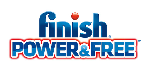 New FINISH® Power & Free™ Dishwasher Products Utilize Hydrogen Peroxide Action To Clean With Less