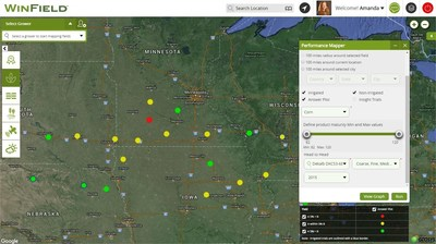 The R7 Tool from Winfield US contains Answer Plot data from nearly 200 locations across the United States.