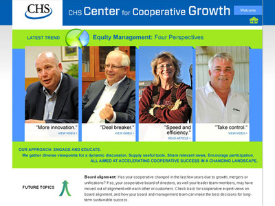 Introducing the CHS Center for Cooperative Growth.  (PRNewsFoto/CHS Inc.)