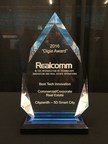 Cityzenith's Digie Award for Best Tech Innovation in Commercial and Corporate Real Estate. For a full list of Digie Award winners, visit: http://www.realcomm.com/realcomm-2016/digies-winners.asp .