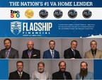 Flagship Financial Group's loan officers took nine of out the top 16 spots on Scotsman Guide's sixth annual Top 25 VA Loan Officers by Volume rankings.