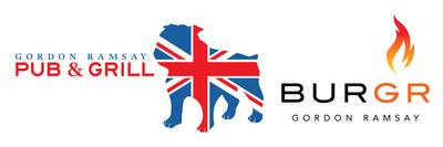 Gordon Ramsay Pub & Grill and Gordon Ramsay BurGR logos