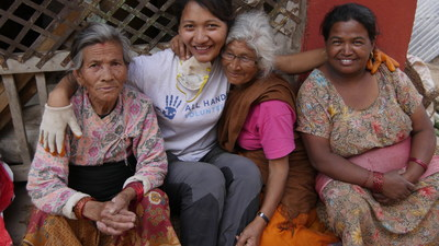 All Hands Volunteers arrived in Nepal 72 hours after the earthquake hit last April and remains committed to the nation's long term recovery.