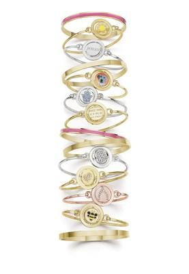 Leading fashion jewelry company CAROLEE introduces Word Play(TM) Double Take bracelets. (PRNewsFoto/CAROLEE)