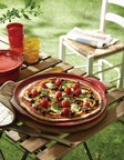 Father's Day Gift: The new Emile Henry pizza stone is designed to make brick-oven style pizzas in home ovens and on backyard grills. The crust turns golden while the toppings cook. The ridges and glaze prevents sticking. The back rim prevents the pizza from sliding.