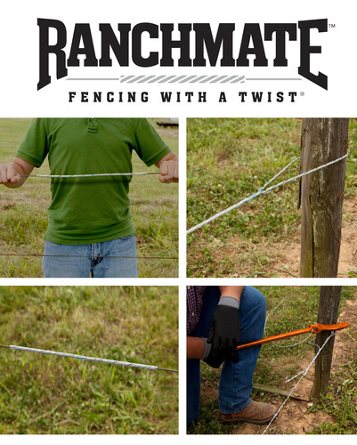 Introducing Ranchmate(TM) fencing repair products. Utility industry technology for building and repairing wire ...