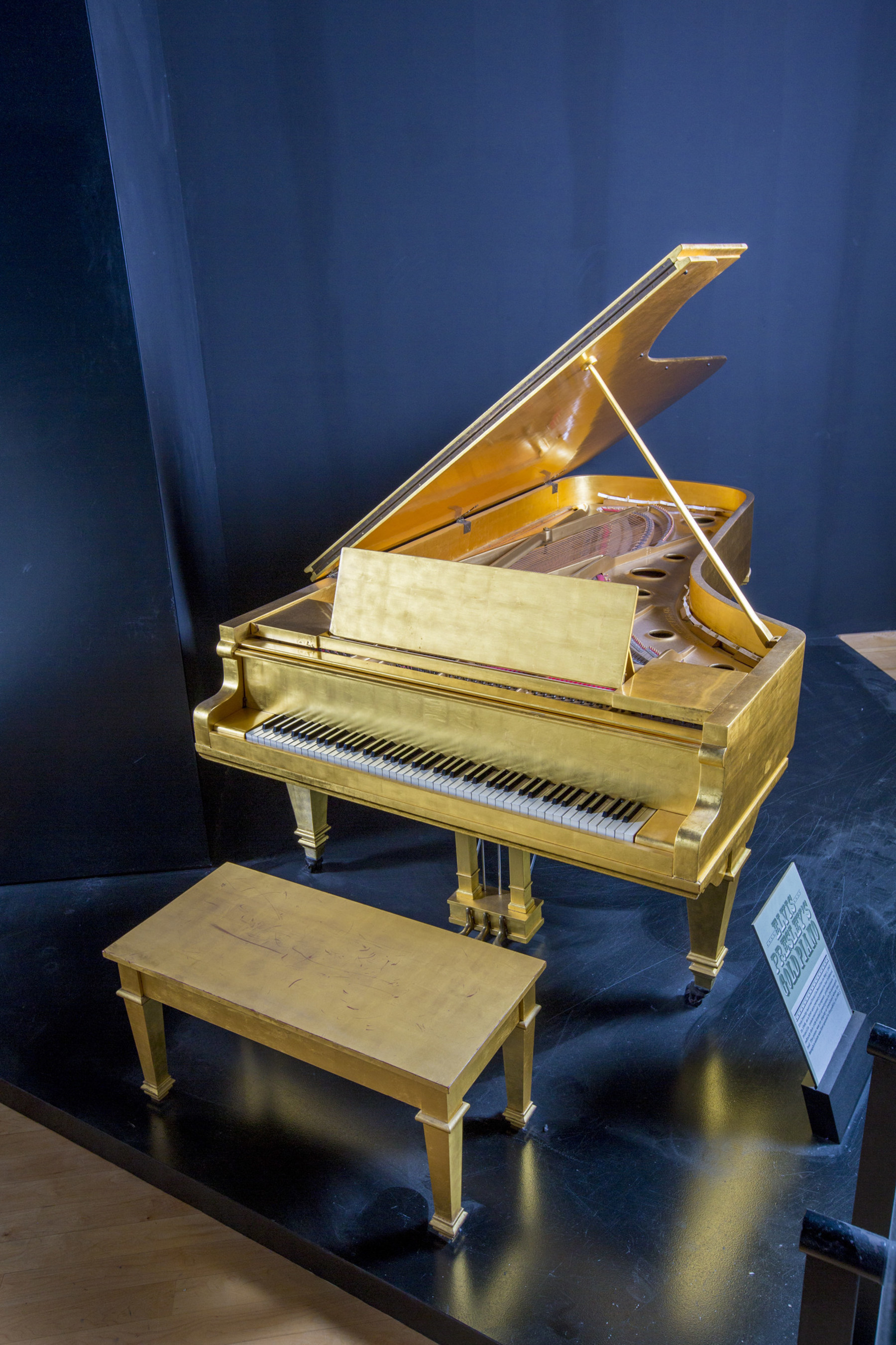 Hard Rock Revealed As Winning Bidder Of Elvis Presley's Iconic Gold Leaf Piano, Making It The