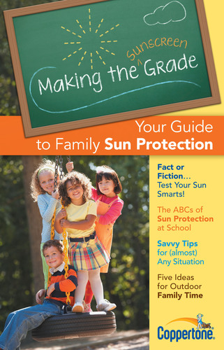 The Coppertone Making the Sunscreen Grade Program educates parents on the steps they can take to help make sun protection for children a priority during the school day and year-round.  (PRNewsFoto/Merck Consumer Care, Inc.)